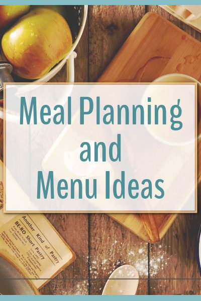 Meal planning is a great way to save time and money in the kitchen,