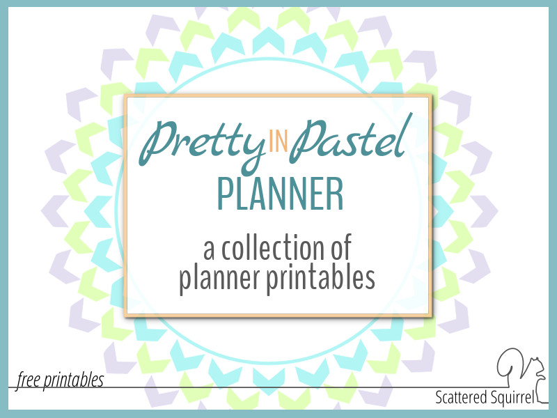 photograph about Pretty Calendars referred to as Wonderful inside of Pastel Planner Printables