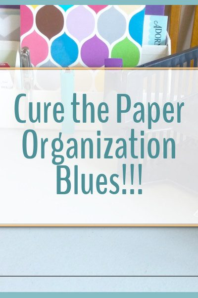 Kick paper clutter to the curb and create a paper organization system that works for you!