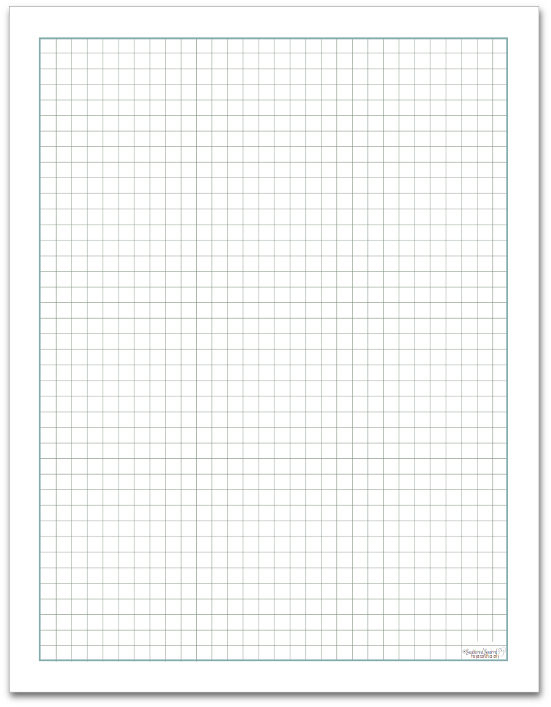 worksheet Grid Paper graph paper full size scattered squirrel size
