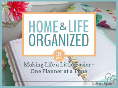I'm sharing my tips for how using multiple planners can help keep your home and life organized.