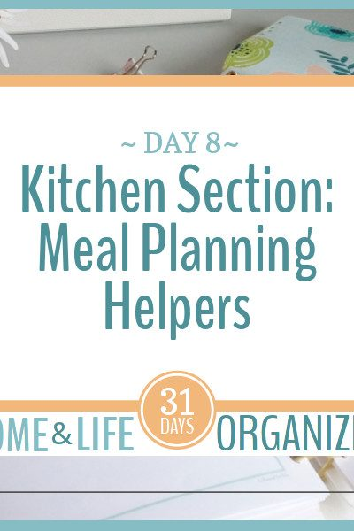 These meal planning helpers will make meal planning a little easier.