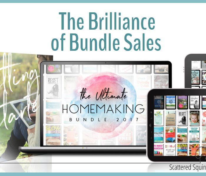 The Brilliance of Bundle Sales