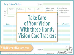 Treat Your Eyes with Discount Glasses and a Vision Care Tracker