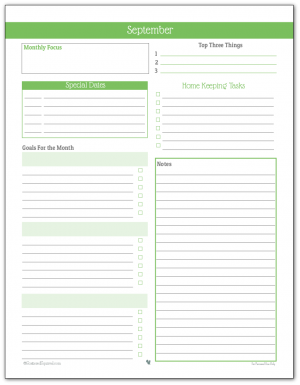 image about A5 Planner Printables known as Individual Planner - No cost Printables