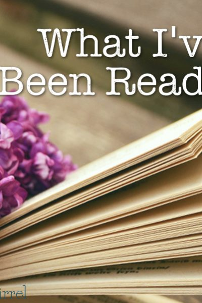 I love to read so I thought it might fun to share a few items that I've been reading each month .