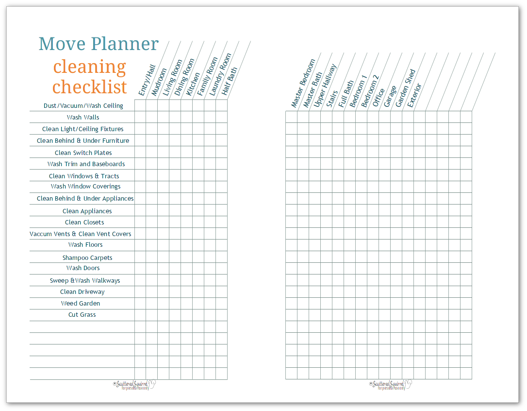 photo regarding Stay Organized With a Printable Moving Checklist identified as Continue to be Ready Whilst Shifting with 50 percent-Dimension Shift Planner