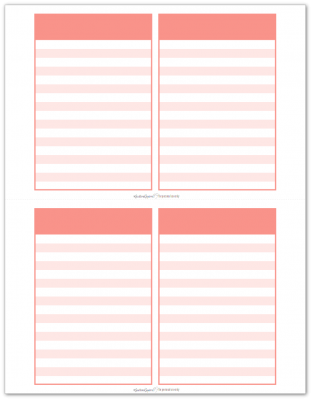Pocket Notes Pink