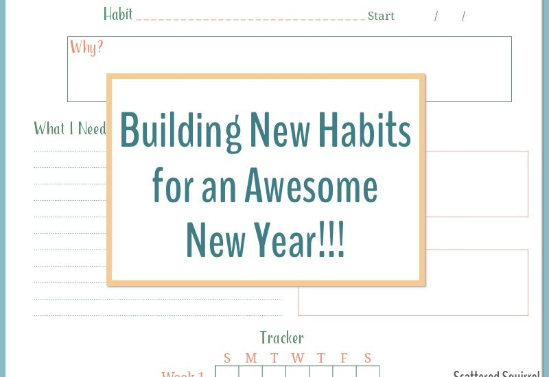 Building New Habits for an Awesome New Year!!!!
