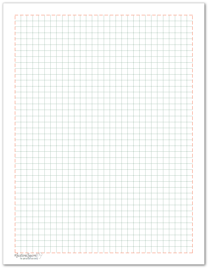 Grid Note paper to match the 2018 planner colours.