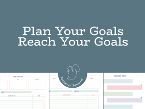 Don't let your goals stay wishes. Use these goal setting printables to help you plan your goals so you can reach your goals.