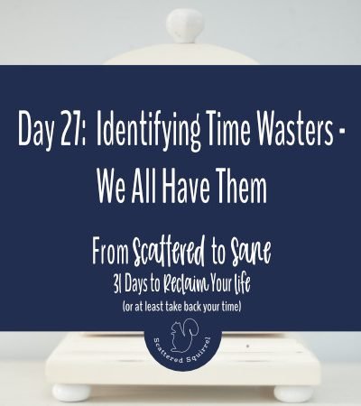 Identifying time wasters allows you to make room for being more productive each day.