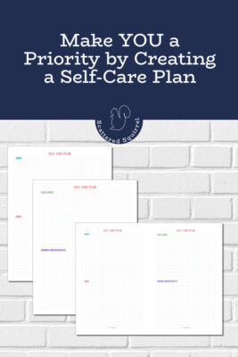 Creating a self-care plan makes it easier to fit self-care into your daily and weekly routines.
