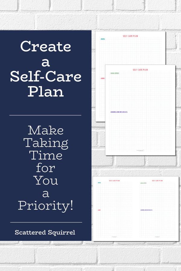 Plan your self-care and make taking time for you so much easier.
