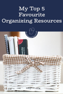 Here are my five, absolute favourite organizing resources around the web. These are the places I go when I need encouragement, inspiration, and motivation to keep going.