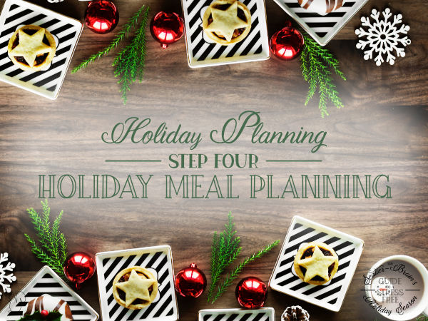 A meal shared with those we love is part of the holiday magic. Find some useful holidy meal planning printables right here.