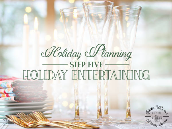 There is something special about holiday entertaining. Use the holiday entertaining printables to help you have a stress free holiday party.
