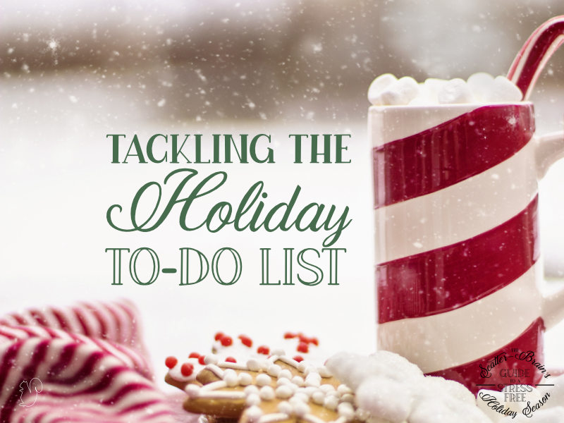 Making a holiday to-do list early can help you plan ahead so you can minimize the chaos and stress of the season.