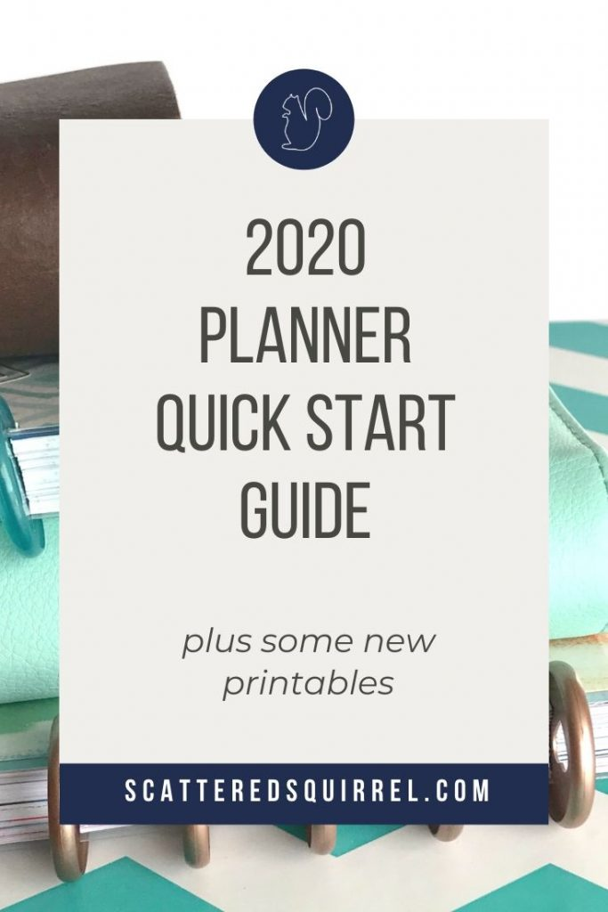 This quick start planner guide is full of tips and all the basics you need to get your planner set up quickly.